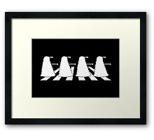 Exterminate Abbey Road Framed Print