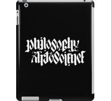 PHILOSOPHY, ART & SCIENCE iPad Case/Skin