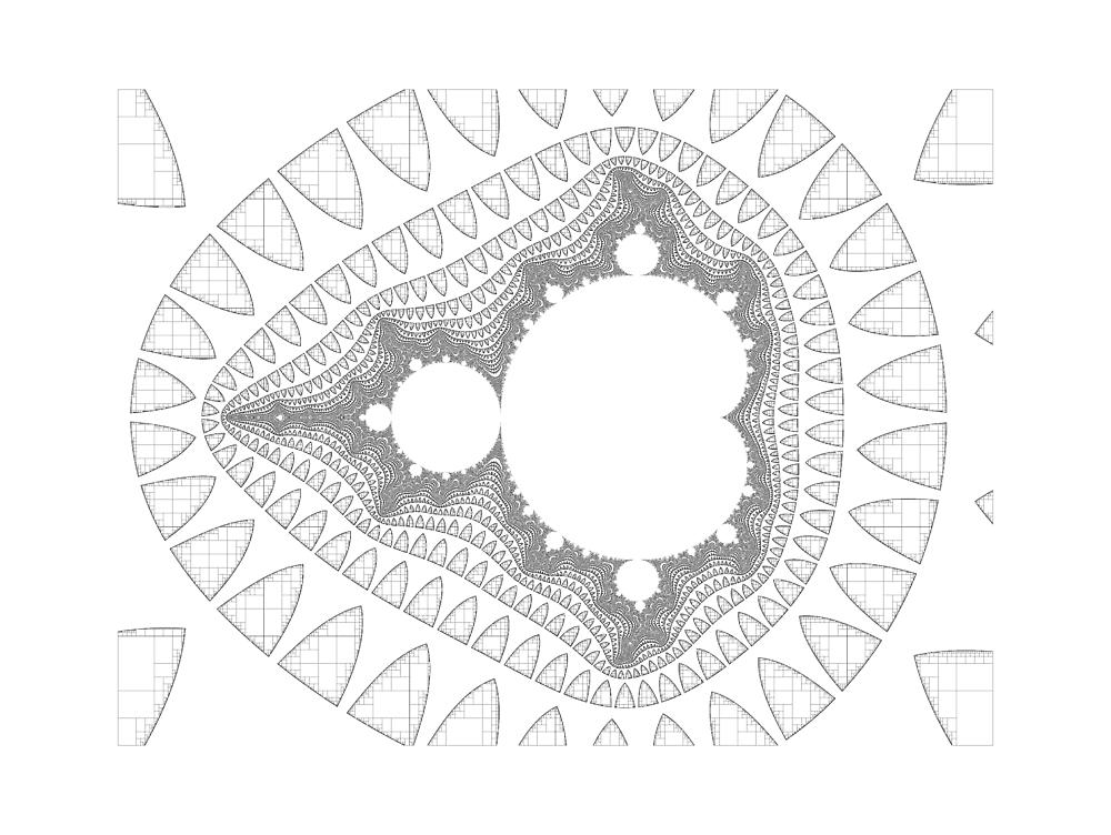 Mandelbrot series IV by Rupert  Russell