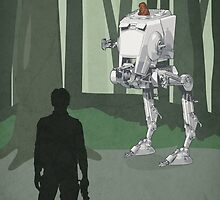 Star Wars Han Endor by lynxcollection