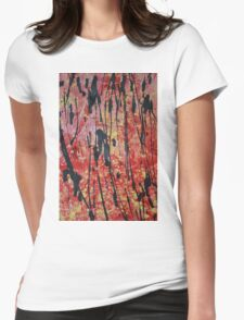 Abstract Beauty Womens Fitted T-Shirt