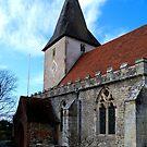 Holy Trinity Church, Bosham Hampshire UK by hootonles