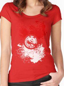 Poke Splat Women's Fitted Scoop T-Shirt