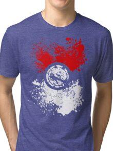 Poke Splat Tri-blend T-Shirt