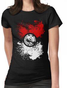 Poke Splat Womens Fitted T-Shirt