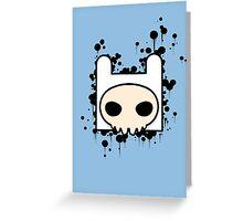 Finn Skull Greeting Card