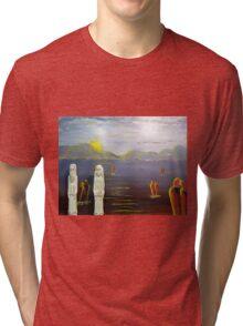 The Ten Commandments   To a Better Place Tri-blend T-Shirt