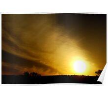Pilbara Sunrise Poster