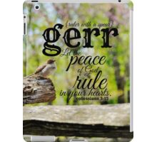 Gerr ruler iPad Case/Skin