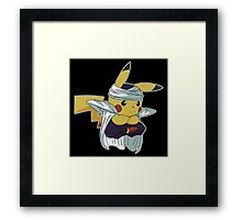 Dragon Ball Pika Framed Print