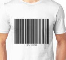 3.14159265 (too big) Unisex T-Shirt