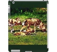 African Wild Dog Family iPad Case/Skin