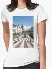 Ponta Delgada, Azores Womens Fitted T-Shirt
