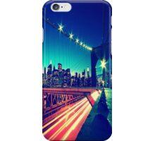 Brooklyn Bridge, City Lights iPhone Case/Skin
