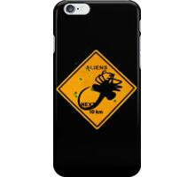 wacht out! Aliens! iPhone Case/Skin