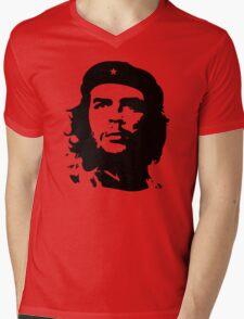 Banksy Print Che Guevara Mens V-Neck T-Shirt
