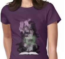 Books are Magic Womens Fitted T-Shirt