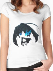 Black Rock Shooter ♥ Women's Fitted Scoop T-Shirt
