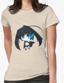Black Rock Shooter ♥ Womens Fitted T-Shirt