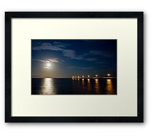 Tranquil Moonlight Framed Print