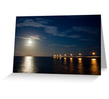 Tranquil Moonlight Greeting Card