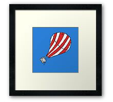 Balloon... Framed Print