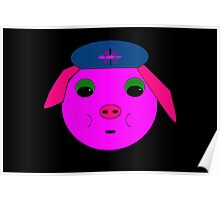 Petunia the Pretty Piggy Poster