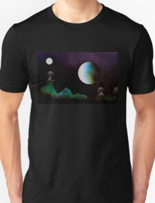 Green Planet space domes T-Shirt