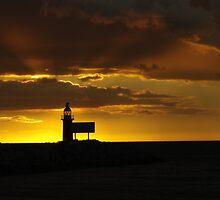 North mole sunset by Gnangarra