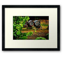 """""""Vine to Vintage"""" Framed Print"""