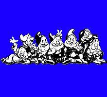 7 dwarfs by Jeff Grazi