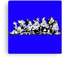 7 dwarfs Canvas Print