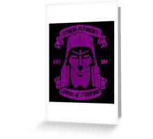 Legend Of Cybertron - Megatron  Greeting Card