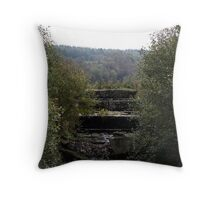 The Lost River Throw Pillow