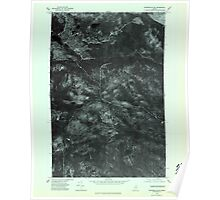 Maine USGS Historical Map Winterville SW 807320 1975 24000 Poster