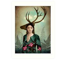 Forest Warrior Art Print