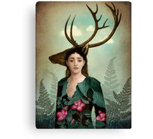 Forest Warrior Canvas Print
