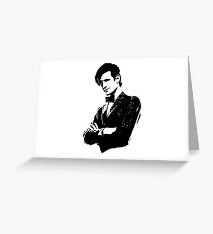 Doctor Who - 11th Doctor Greeting Card