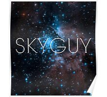 Skyguy (space version) Poster