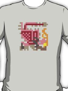 Pixel Pink Rathian T-Shirt