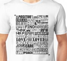Random Funky Words Unisex T-Shirt