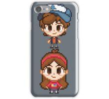 Mystery Twins Pixels iPhone Case/Skin