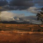 Storm blowing up over Edeowie by John Shortt-Smith