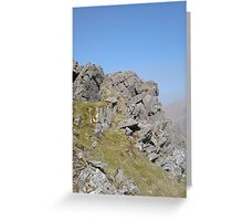 Rock Outcrop Greeting Card