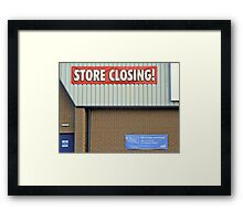 Conflicting Information  -  No Wonder They Went Bust!!! Framed Print