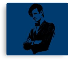 Doctor Who - 11th Doctor (Tardis Blue) Canvas Print