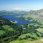 View of Ullswater from St Sunday Cragg by Duncan Payne