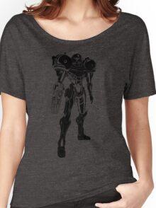Samus Stencil Women's Relaxed Fit T-Shirt
