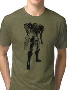 Samus Stencil Tri-blend T-Shirt