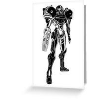 Samus Stencil Greeting Card